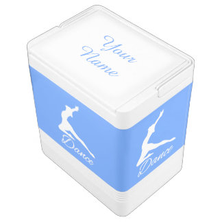 DANCE custom monogram & color cooler Igloo Cool Box
