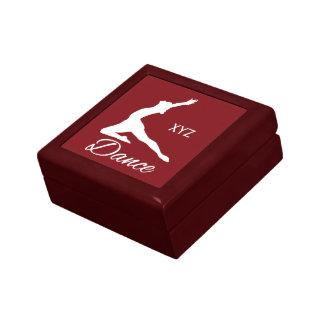 DANCE custom monogram & color gift / jewelry box