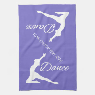 DANCE custom monogram & color hand towel