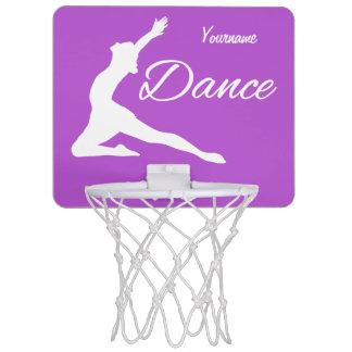 DANCE custom monogram & color mini hoop