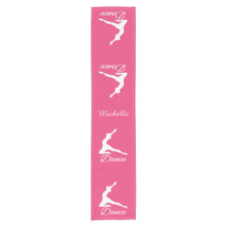 DANCE custom monogram & color table runner