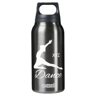 DANCE custom monogram Insulated Water Bottle