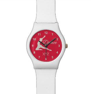 DANCE custom monogram watches