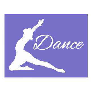DANCE custom postcard