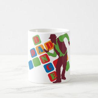 Dance Dad Basic White Mug