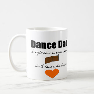 Dance Dad- Empty Wallet, Full Heart Classic White Coffee Mug