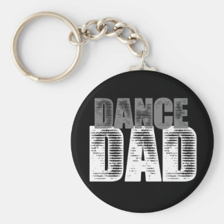 Dance Dad Key Ring
