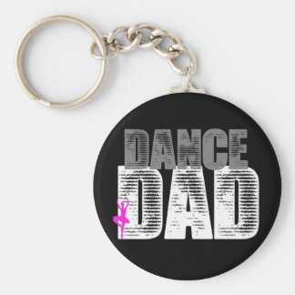 Dance Dad Key Ring