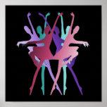 Dance Dance Dance Colours Posters