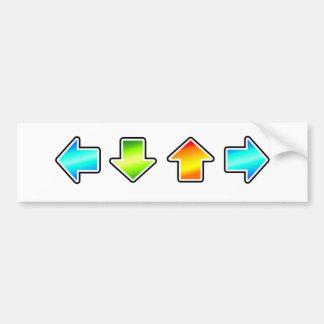 Dance Dance Revolution Bumper Sticker