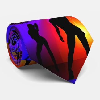 Dance Disco Party Girls Glow In The Dark Tie