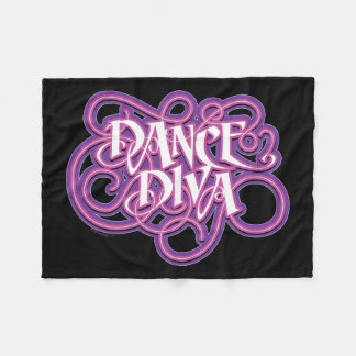 Dance Diva Fleece Blanket