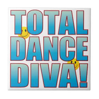 Dance Diva Life B Small Square Tile
