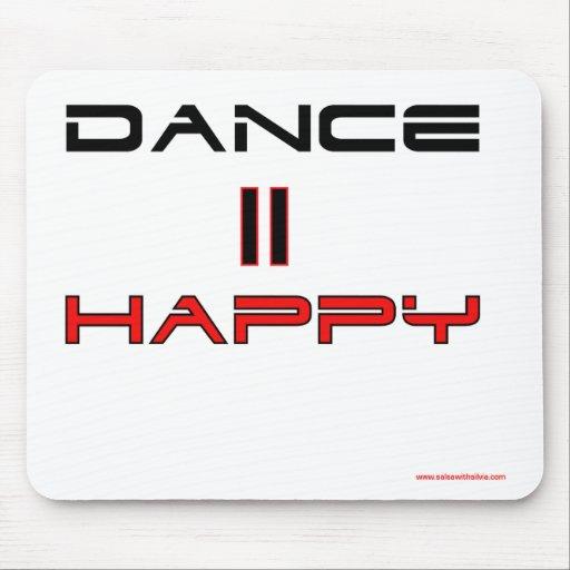 Dance Equals Happy Mousepad