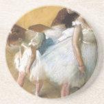 Dance Examination by Edgar Degas, Vintage Ballet Coasters