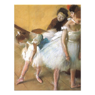 Dance Examination by Edgar Degas Vintage Ballet Personalized Invite