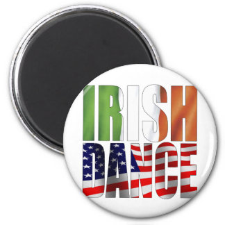 Dance Flags 6 Cm Round Magnet