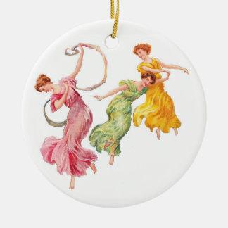 Dance for Joy Christmas Ornament