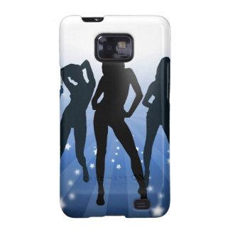 Dance girl samsung galaxy s case