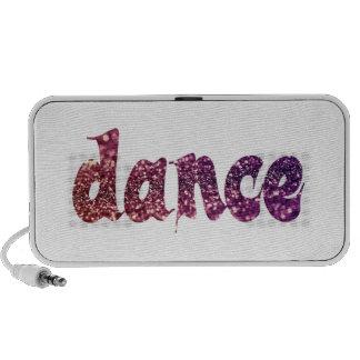 Dance Glitter Travel Speaker