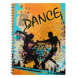Dance Grunge - Choreographer, Dancer, Instructor Notebook