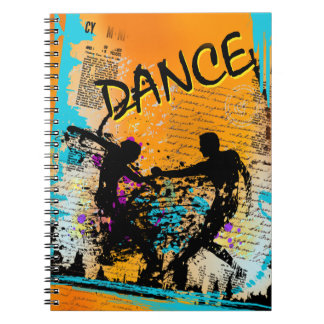 Dance Grunge - Choreographer, Dancer, Instructor Spiral Notebook