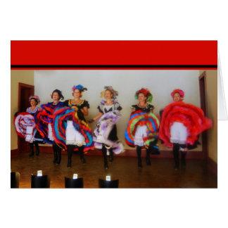 Dance Hall Girls Card
