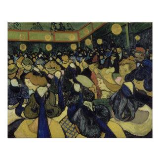 Dance Hall in Arles by Vincent Van Gogh
