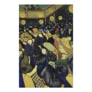 Dance Hall in Arles by Vincent Van Gogh Custom Flyer