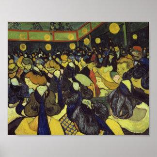 Dance Hall in Arles Van Gogh Fine Art Poster