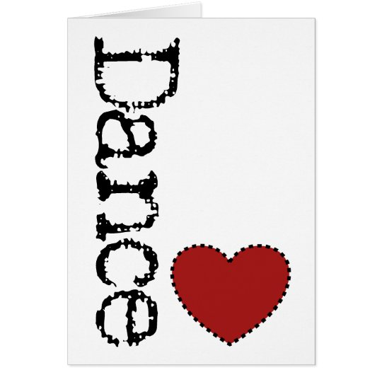 Dance Heart Greeting Card