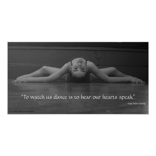 Dance Heart Speak Poster
