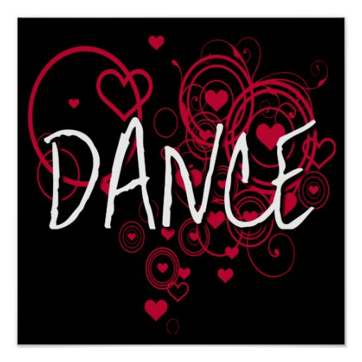 Dance Hearts Poster
