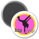 Dance - Hip Hop pink girl magnet