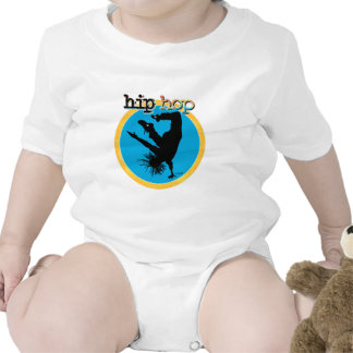 Dance - Hip Hop Baby Bodysuits