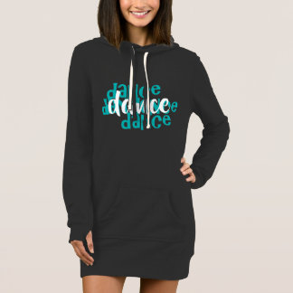 dance hoodie dress by DAL