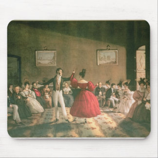 Dance in a Salon in Buenos Aires, c.1831 (w/c on p Mouse Mat