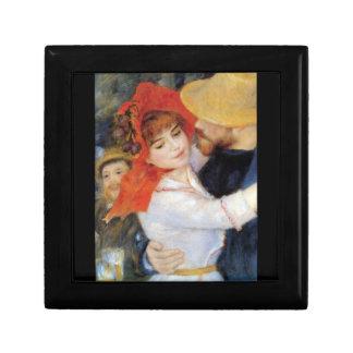 Dance in Bougival (Detail) by Pierre Renoir Gift Box