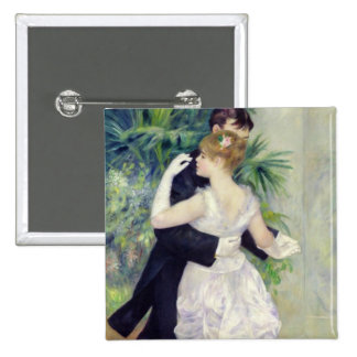 Dance in the City, 1883 15 Cm Square Badge
