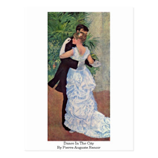Dance In The City By Pierre-Auguste Renoir Postcard