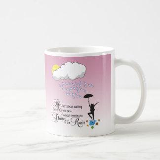 Dance in the Rain Basic White Mug