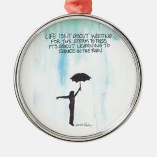 Dance In The Rain Christmas Ornament