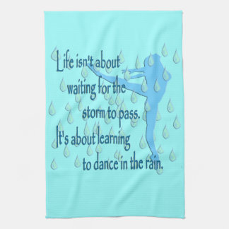 Dance in the Rain Kitchen Towel
