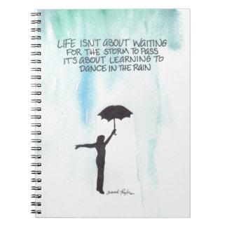 Dance In The Rain Notebook