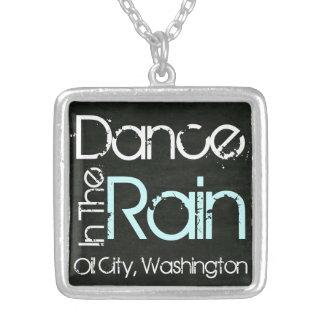 Dance In The Rain Oil City, Washington Necklace