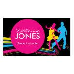 Dance Instructor Business Car