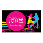 Dance Instructor Business Car Pack Of Standard Business Cards
