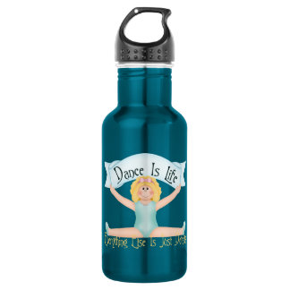 Dance is Life 532 Ml Water Bottle