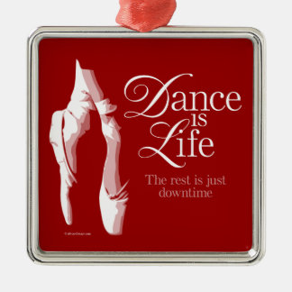 Dance Is Life Christmas Ornament