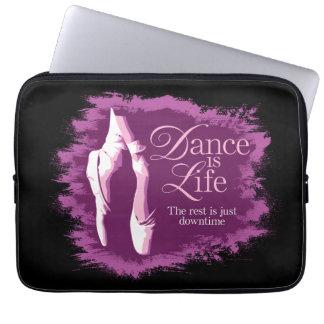 Dance Is Life Laptop Sleeve